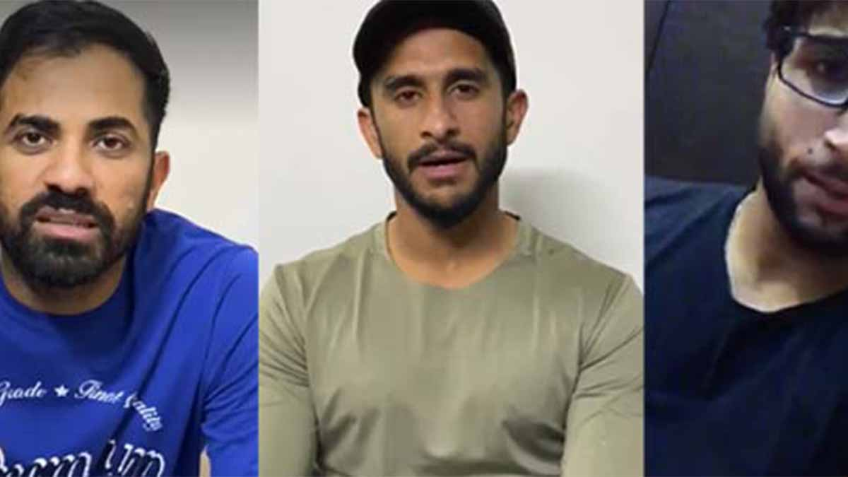Special messages regarding awareness about Coronavirus by Javed Afridi, Darren Sammy, Captain Wahab Riaz, and players