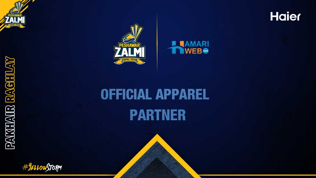 ''Hamari Web'' as our Website Partner for HBL PSL V