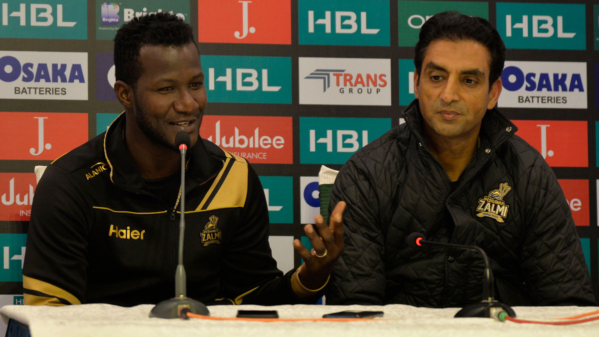 Darren Sammy appointed Peshawar Zalmi head coach for next two years while Wahab Riaz captain for season five