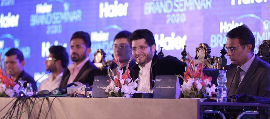 Peshawar Zalmi MoU Signing Ceremony with Haier.